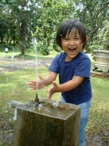 3 y.o Kakak... di Kebun Raya Purwodadi