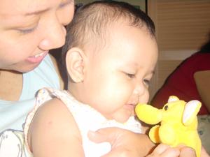 Mbak Pit dan Kakak (5 months)