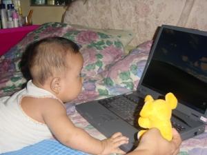 Kakak (4months) A Blogger Wannabe! ^_^