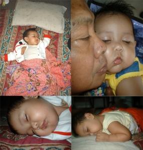 Sleepy Style, Kakak pas Bayi