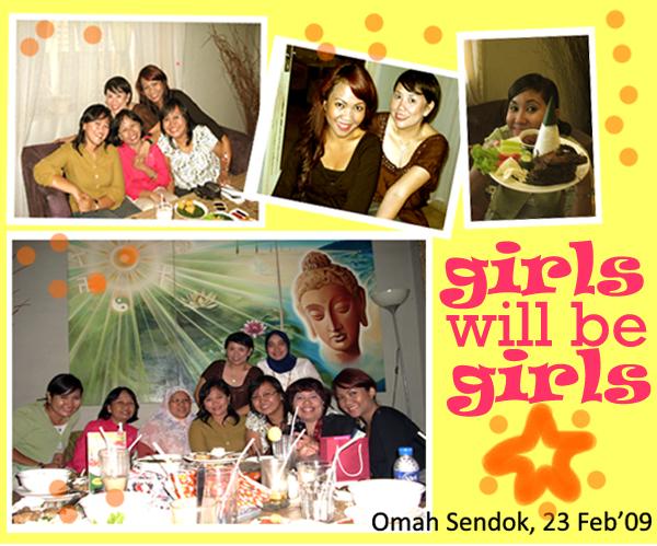 Girls will be Girls, sebuah acara kopdar yang super fun!