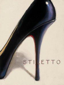 a3909black-stiletto-posters